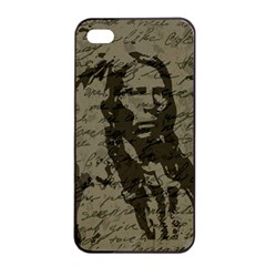 Indian Chief Apple Iphone 4/4s Seamless Case (black) by Valentinaart