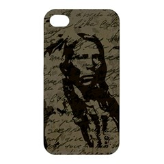 Indian Chief Apple Iphone 4/4s Hardshell Case by Valentinaart