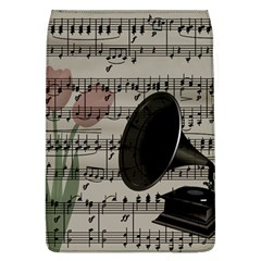 Vintage Music Design Flap Covers (l)  by Valentinaart