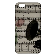 Vintage Music Design Iphone 6 Plus/6s Plus Tpu Case by Valentinaart