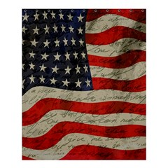 Vintage American Flag Shower Curtain 60  X 72  (medium)  by Valentinaart