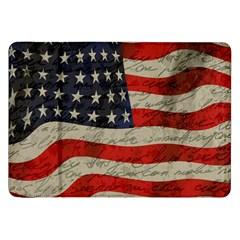 Vintage American Flag Samsung Galaxy Tab 8 9  P7300 Flip Case by Valentinaart