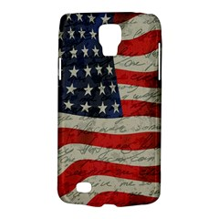 Vintage American Flag Galaxy S4 Active by Valentinaart