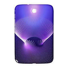 Abstract Fractal 3d Purple Artistic Pattern Line Samsung Galaxy Note 8 0 N5100 Hardshell Case