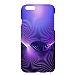 Abstract Fractal 3d Purple Artistic Pattern Line Apple Iphone 6 Plus/6s Plus Hardshell Case by Simbadda