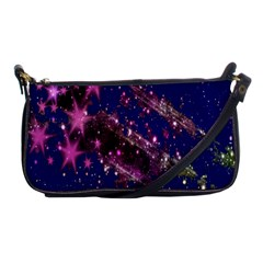 Stars Abstract Shine Spots Lines Shoulder Clutch Bags by Simbadda