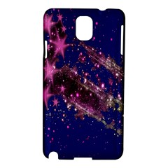 Stars Abstract Shine Spots Lines Samsung Galaxy Note 3 N9005 Hardshell Case by Simbadda