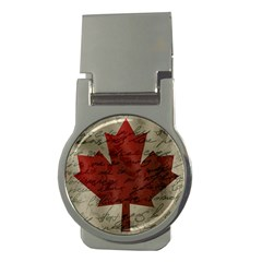 Canada Flag Money Clips (round)  by Valentinaart
