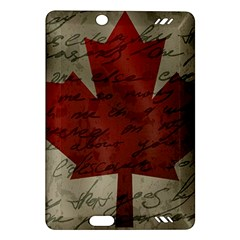 Canada Flag Amazon Kindle Fire Hd (2013) Hardshell Case by Valentinaart