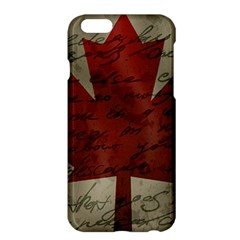 Canada Flag Apple Iphone 6 Plus/6s Plus Hardshell Case by Valentinaart