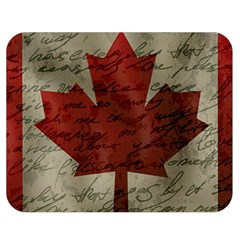 Canada Flag Double Sided Flano Blanket (medium)  by Valentinaart