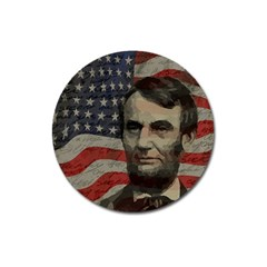 Lincoln Day  Magnet 3  (round) by Valentinaart
