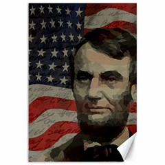 Lincoln Day  Canvas 12  X 18