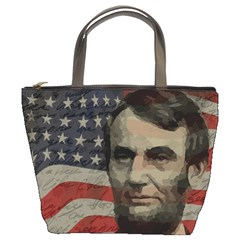 Lincoln Day  Bucket Bags by Valentinaart