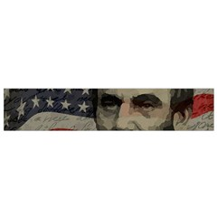 Lincoln Day  Flano Scarf (small) by Valentinaart