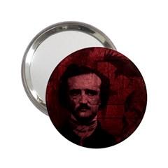 Edgar Allan Poe  2 25  Handbag Mirrors by Valentinaart