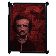 Edgar Allan Poe  Apple Ipad 2 Case (black) by Valentinaart