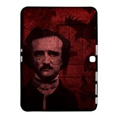 Edgar Allan Poe  Samsung Galaxy Tab 4 (10 1 ) Hardshell Case  by Valentinaart