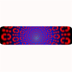 Binary Code Optical Illusion Rotation Large Bar Mats by Simbadda