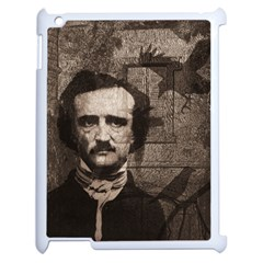 Edgar Allan Poe  Apple Ipad 2 Case (white) by Valentinaart