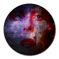 David Bowie  Round Mousepads by Valentinaart