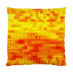 Bright Background Orange Yellow Standard Cushion Case (two Sides) by Simbadda