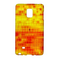 Bright Background Orange Yellow Galaxy Note Edge by Simbadda