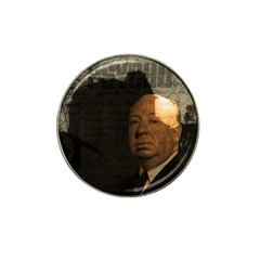 Alfred Hitchcock   Psycho  Hat Clip Ball Marker (4 Pack) by Valentinaart
