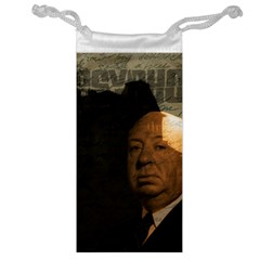 Alfred Hitchcock   Psycho  Jewelry Bag by Valentinaart