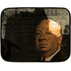 Alfred Hitchcock   Psycho  Fleece Blanket (mini) by Valentinaart