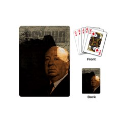 Alfred Hitchcock   Psycho  Playing Cards (mini)  by Valentinaart