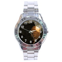 Alfred Hitchcock   Psycho  Stainless Steel Analogue Watch by Valentinaart