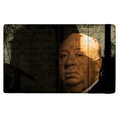 Alfred Hitchcock   Psycho  Apple Ipad 2 Flip Case by Valentinaart