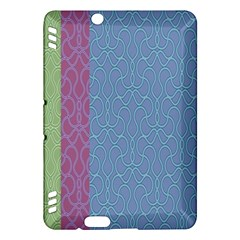 Fine Line Pattern Background Vector Kindle Fire Hdx Hardshell Case by Simbadda