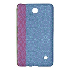 Fine Line Pattern Background Vector Samsung Galaxy Tab 4 (8 ) Hardshell Case  by Simbadda