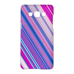 Line Obliquely Pink Samsung Galaxy A5 Hardshell Case