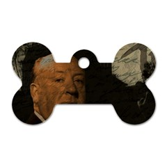 Alfred Hitchcock   Psycho  Dog Tag Bone (two Sides) by Valentinaart