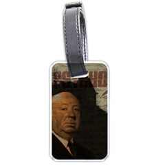 Alfred Hitchcock   Psycho  Luggage Tags (one Side)  by Valentinaart
