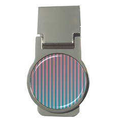 Hald Simulate Tritanope Color Vision With Color Lookup Tables Money Clips (round)  by Simbadda