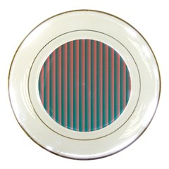 Hald Simulate Tritanope Color Vision With Color Lookup Tables Porcelain Plates by Simbadda