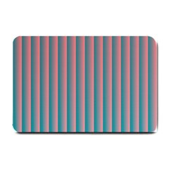 Hald Simulate Tritanope Color Vision With Color Lookup Tables Small Doormat  by Simbadda