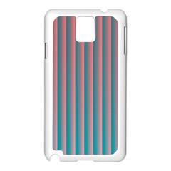 Hald Simulate Tritanope Color Vision With Color Lookup Tables Samsung Galaxy Note 3 N9005 Case (white)