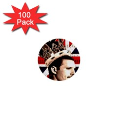 Freddie Mercury 1  Mini Buttons (100 Pack)  by Valentinaart