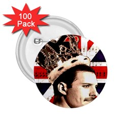 Freddie Mercury 2 25  Buttons (100 Pack)  by Valentinaart