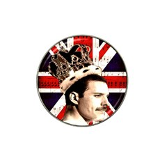 Freddie Mercury Hat Clip Ball Marker (4 Pack) by Valentinaart