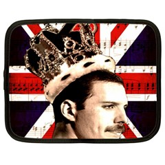 Freddie Mercury Netbook Case (xxl)  by Valentinaart