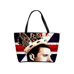 Freddie Mercury Shoulder Handbags by Valentinaart