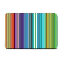 Color Stripes Small Doormat  by Simbadda