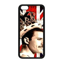 Freddie Mercury Apple Iphone 5c Seamless Case (black) by Valentinaart
