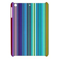 Color Stripes Apple Ipad Mini Hardshell Case by Simbadda